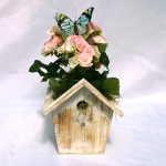 Blossoming Birdhouse Planter